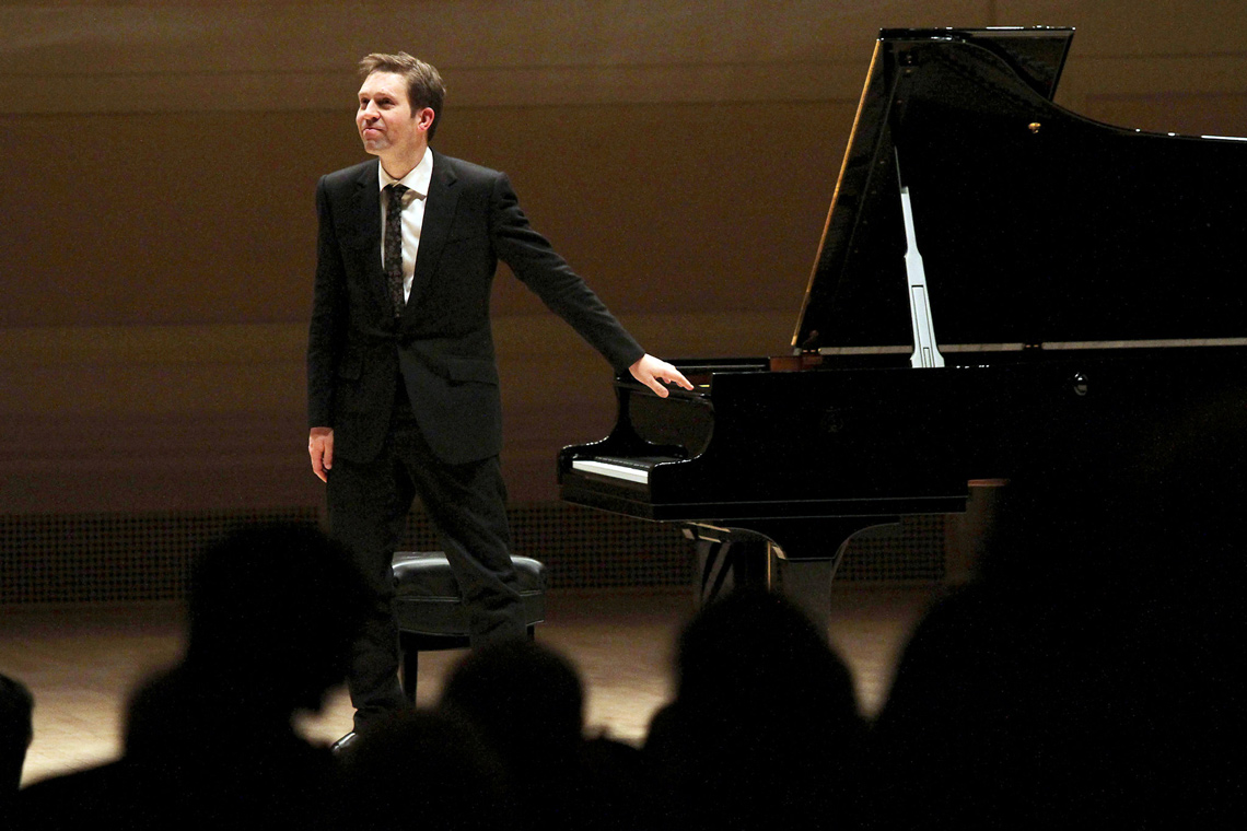 Leif Ove Andsnes at Carnegie Hall this year. Photo by: Tina Fineberg.