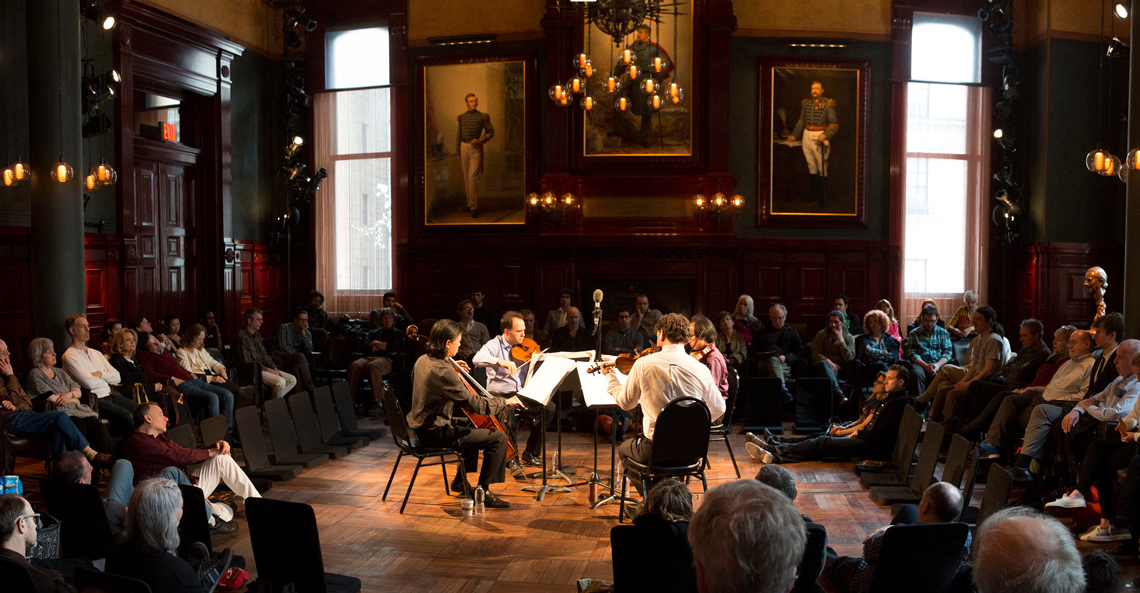 Flux Quartet at the Park Avenue Armory