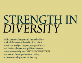 """Diversity is Good Business"" – My Report on Efforts to Promote Diversity in Classical Music"